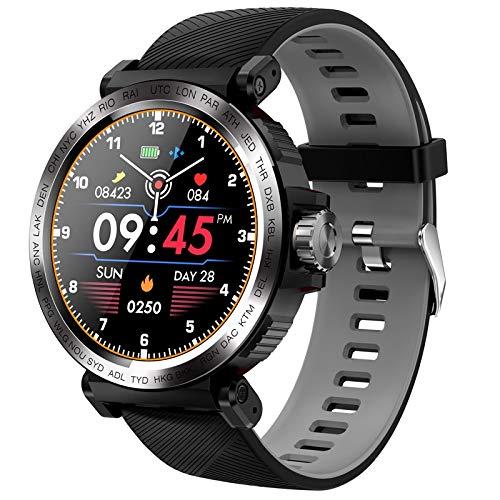 DFGH Sport-Tracker mit Touchscreen, wasserdicht, IP68 grau