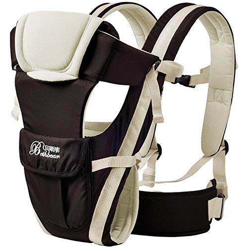 Bethbear Multifunktionale Belüftung verstellbare Schnalle Mesh Wrap Babytrage Rucksack -