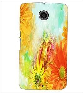 PrintDhaba Painting D-3956 Back Case Cover for MOTOROLA GOOGLE NEXUS 6 (Multi-Coloured)