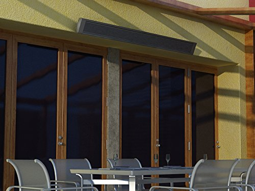 1000W Terrassen-Heizkörper, Infrarotheizung für Außen, beheizt 25-50m³, Wand-/Deckenmontage, HVH10TH - 2