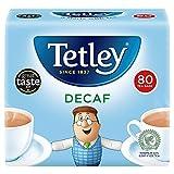 Tetley Decaffeinated Tea 80 Btl. 250g - entkoffeinierter schwarzer Tee