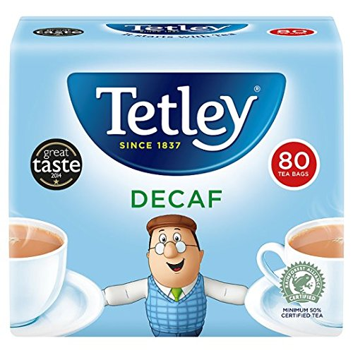 TETLEY DECAFFEINATED TEA BAGS PK805012X