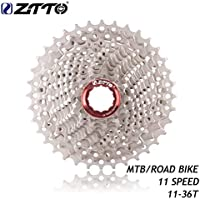 Silber Sanzhileg ZTTO 11 Speed Kassette 11-28T Kompatibel f/ür Rennrad Shimano Sram System Hochfeste Stahlkettenr/äder Cogs Folding Gear