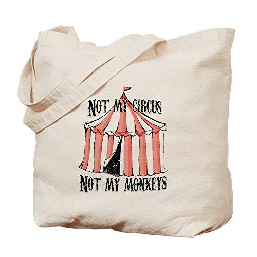 Circus Leinwand (CafePress-nicht My Circus-Leinwand Natur Tasche, Reinigungstuch Einkaufstasche)