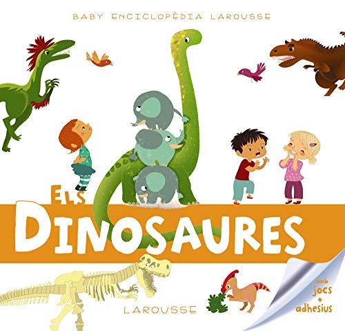 """Quina alÇada tenien els diplodocus Qué menjaven els tiranosaures Com eren els caps dels triceratops Aquestes qüestions i altres molt divertides tenen resposta grácies a aquest llibre tan original. Els títols que componen la col·lecció """" Baby Enciclop..."""