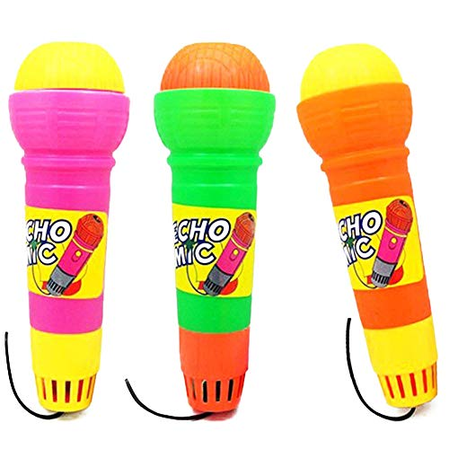 ie Echo Mikrofon Spielzeug Random Farbe 2 packs2pcs Lustige Echo Mikrofone Durable Kinder Nicht Pretend T brauchen ()