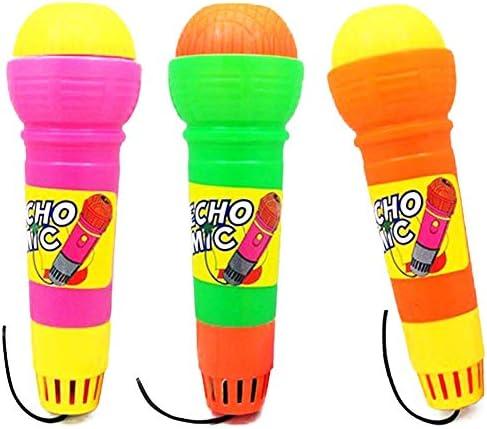 NiceButy Funny Echo Microphones Pretend durables  s Pretend Microphones Jouets en Plastique Echo Mic Pratique Magique Mic Toy pour l'anniversaire du Parti Graduations Couleur aléatoire Cadeaux 9a75cd