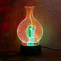 Vogelbauer Nachttischlampe LED-Nachtlicht Kinder Schlafen Geschenke