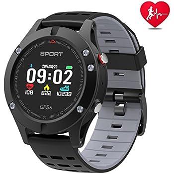 Montre intelligente,montre de sport avec altimètre et GPS intégré,tracker de fitness pour