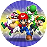 Tortenaufleger Super Mario4 / 20 cm Ø/Lieferung 2 bis 5 Werktage