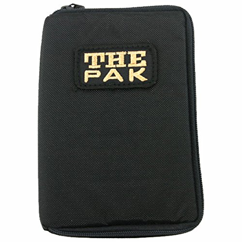 The Pak Darttasche für Darts schwarz