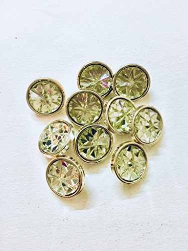 Eerafashionicing Latest Designer Pack of 5 Crystel Buttons for Women's Kurtis