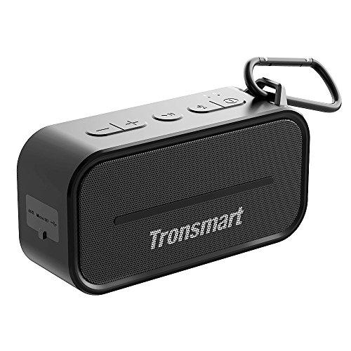 Tronsmart T2 Altoparlante Bluetooth 4.2 Speaker 10W - Cassa Bluetooth TWS Portatile, Impermeabile Doccia Outdoor, Potente Audio Stereo, Wireless con Microfono,per Samsung, HuaWei, XiaoMi, Nexus, HTC, iPhone e iPad, ecc
