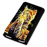 Book Style Flip Handy Tasche Case Schutz Hülle Foto Schale Motiv Etui für Alcatel OneTouch pop star 5022D - Flip U3 Design3