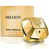 Damen-Parfüm Paco Rabanne Lady Million 80ml EDP 2,7oz 80ml Eau de Parfum