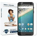 Tech Armor Bildschirmschutz für Nexus 6P, aus ballistischem Glas, für Google Nexus 6P