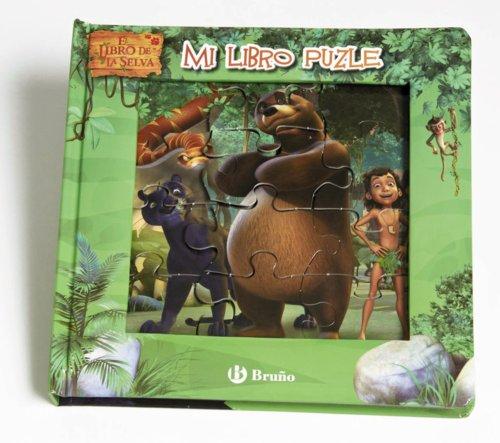 Mi libro puzle. El libro de la selva (Castellano - Bruño - Libro De La Selva) por VV. AA.