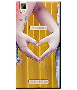 Fashionury Soft Silicon Lightweight (Printed) Back Cover Case for Panasonic Eluga A2/ Panasonic Eluga A2