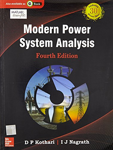 Modern Power System Analysis, 4Ed