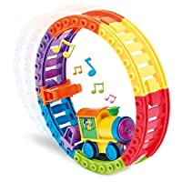 TOMY Toomies Choo Choo Loop - Musical Motorised Train and Track Toy - Suitable From 1 year E72360 Multi Color