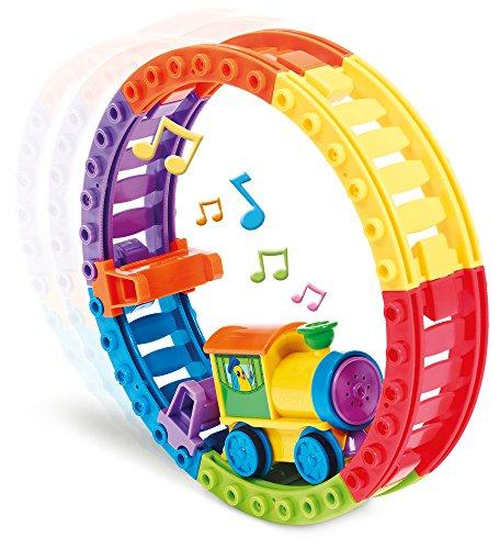 TOMY Toomies Choo Choo Loop - Musical Motorised Train and Track Toy - Suitable From 1 year