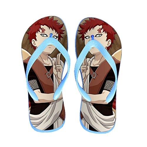 Bromeo Naruto Anime Unisex Flip Flops Zehentrenner Flip Pantoffeln 311