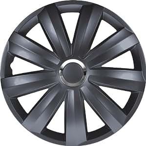 Jeu d'enjoliveurs Venture Pro 13-inch gris + anneau chromé (Nylon)