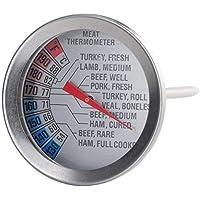 Carne Aves Corral Termómetro Fahrenheit Grados Centígrados Fácil de Leer Esfera 55 ...