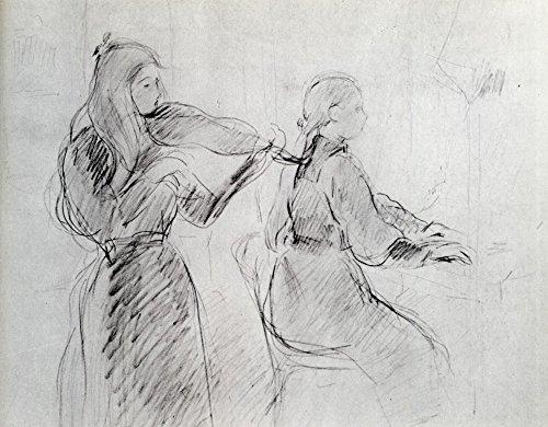 Das Museum Outlet-1894-Studie für die Mozart Sonata-poster print Online kaufen (101,6x 127cm) Gold Sonata