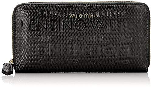 Mario Valentino Valentino by Damen Serenity Geldbörse, Schwarz (Nero), 2.2x10x19 cm