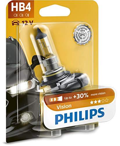 2x Philips HB4 51W 12V P22d 9006PRC1 Vision 30/% Scheinwerfer Ersatz Auto Lampe