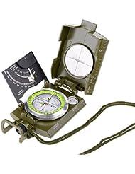 exclura Professional Military Visieren Kompass Clinometer Wasserdicht für Camping, Wandern, Reisen und andere Outdoor-Aktivitäten