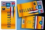 "3 Kartenhüllen HOLLAND ""Oranje BOX"""