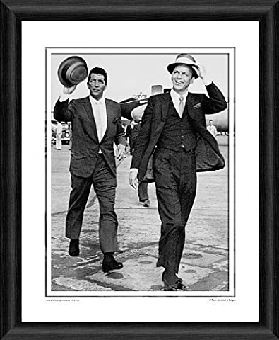 Dean Martin and Frank Sinatra Framed Photographic Print