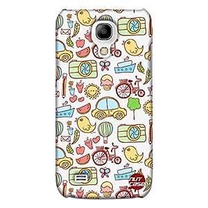 Designer Samsung Galaxy S4 Mini Cover Nutcase -Cute Elements