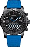 BREITLING Armbanduhr für Herren, Modell: Exospace Connected B55 VB5510H2-BE45BLPD3, Quarzwerk, Titan-Gehäuse