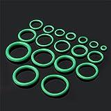 elec tech Unterlegscheiben Gummi 270PC O-Ring Dichtungen Unterlegscheiben für Automobilklimaanlagen-Handwerkzeug-Sätze