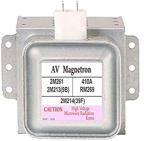 Shree Shringar Fashion Microwave Ovens Magnetron Compatible with LG 2M214(39F) | LG 2M213(9B) | Galanz 410A | Daewoo RM269 | Panasonic 2M261 (Silver; 4 inch)