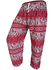 by soljo - Pantalon pantalons de loisirs sportifs pantalon Elephant rouge