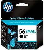 HP 56 Schwarz Original Druckerpatrone Einstiegsgröße für HP Deskjet, HP Photosmart, HP PSC, HP Officejet