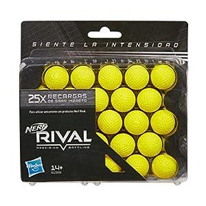 Nerf Rival Ner Rival Pack 25 Bolas recambios 16x15cm,, Unidades (Hasbro B1589SO0)