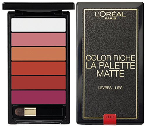 L'Oreal Colour Riche Lips La Bold Palette Matte, Pack of 6