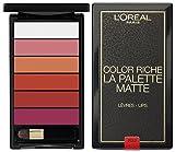 L'Oréal Paris Color Riche Mate Palette de Labios Bold