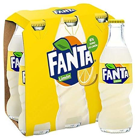 Fanta Zumo de Lim n Pack de 6 x 200 ml Total 1200 ml