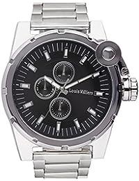 Reloj hombre Louis Villiers acero negro 50 mm lvag3733 – 11