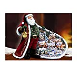 AMhomely Christmas Decorations Sale,Christmas Diamond Rhinestone Pasted Embroidery Painting Cross Stitch Home Decor Merry Christmas Decorative Xmas Decor Ornaments Party Decor Gifts For Kids Adults
