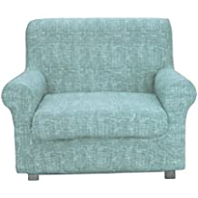 Biancheria Casa Copripoltrona Elasticizzato Copri Poltrona AFFARE Stock  Tessuto Elastico   Colore - Azzurro 47721e4c300