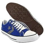 CONVERSE - Schuhe All-Star- Star Player Ox Stoff blau und weiß Logo 129769C - 129769C - 39, Blu