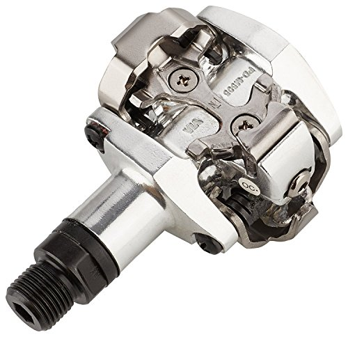 SHIMANO E-PDM505S Pedal, Silber, One Size -