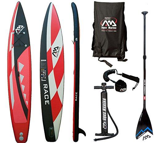 Aqua Marina Race SUP Stand Up Paddle Surfboard Carbon F… | 04211058173776